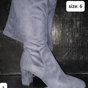 Knee high size 6 boot